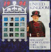 1994 Brilliant Uncirculated Coin Collection